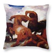 Centaurs 1873 Throw Pillow