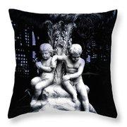 Centenial Fountain  Throw Pillow