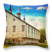 Centennial Barn Throw Pillow