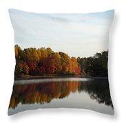 Centennial Lake Autumn - Fall Dressing Throw Pillow