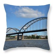 Centennial Spans Throw Pillow