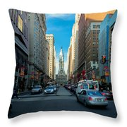 Center City Throw Pillow