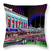 Center For Wooden Boats Throw Pillow