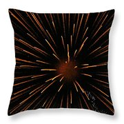 Center Mass Throw Pillow