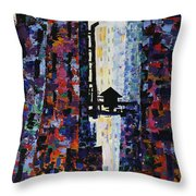 Center Street Throw Pillow