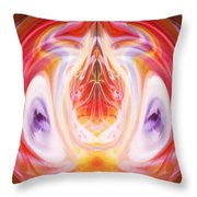 Centered And Connected Throw Pillow