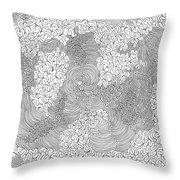 Centered Throw Pillow