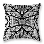 Centering Solitude Throw Pillow