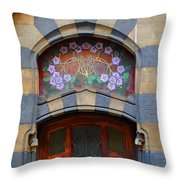 Centers Of Flowers Throw Pillow