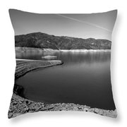Centimudi In Black And White Throw Pillow