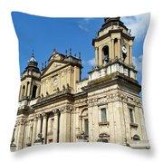 Central Church Guatemala City 1 Throw Pillow
