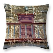 Central City Opera House Door Stage Left Throw Pillow