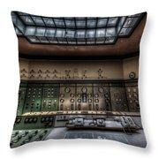 Central Control  Throw Pillow