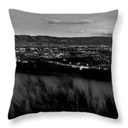 Central East Gorge Throw Pillow