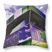 Central Library  Seattle Throw Pillow