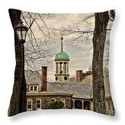Central Moravian Church - Bethlehem Throw Pillow