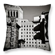 Central Northside Throw Pillow