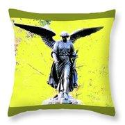 Central Park Bathesda Fountain 3b Detail Throw Pillow