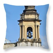 Central Park Metropolitan Cathedral Throw Pillow