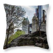 Central Park Views  Throw Pillow