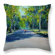 Central Park,nyc Throw Pillow