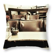 Central Reservation Throw Pillow