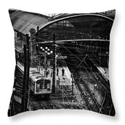Central Station Fn0030 Throw Pillow