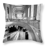 Central Station Milan 2 Throw Pillow