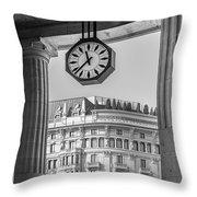 Central Station Milan 3 Throw Pillow