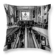 Central Station Milan Throw Pillow