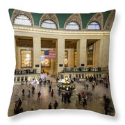 Central Station New York  Throw Pillow