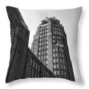 Central Terminal 15142 Throw Pillow