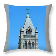 Central United Methodist Church Of Asheville Nc Throw Pillow