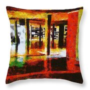 Central University Of Venezuela Throw Pillow