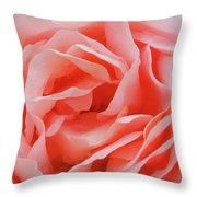 Centre - Rose Throw Pillow