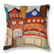 Centre Town Throw Pillow