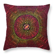 Centrifugal Throw Pillow