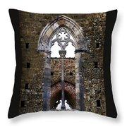 Centuries Old Throw Pillow