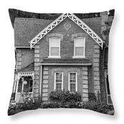 Century Home - Bw Throw Pillow
