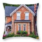 Century Home Throw Pillow