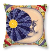 Ceramic Moon Throw Pillow