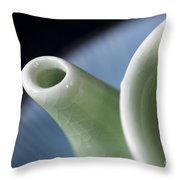 Ceramic Teapot Throw Pillow
