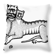 Cerberus Throw Pillow