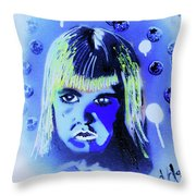 Cereal Killers - Boo Berry  Throw Pillow