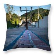 Cerro De Las 3 Cruces - Apaneca 4 Throw Pillow