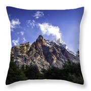 Cerro Fitz Roy 3 Throw Pillow