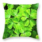 Certain Green Throw Pillow
