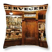 Cerveceria Throw Pillow