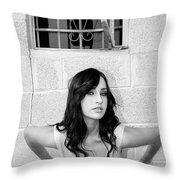 Cesira Palm Springs Throw Pillow