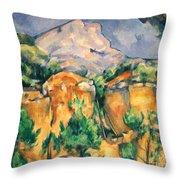 Cezanne: Sainte-victoire Throw Pillow